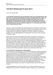 15 Jahre Feldbeobachtung: Analyse und Empfehlungen für die Praxis
