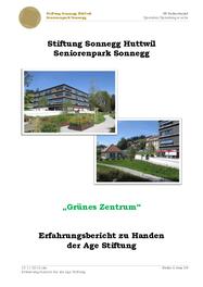 Stiftung Sonnegg Huttwil Seniorenpark Sonnegg