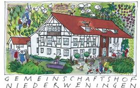 Miteinander wohnen und arbeiten im Gemeinschaftshof Niederweningen