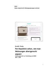 MONA - Mobiles Analysetool für Wohnungsanpassungen im Bestand