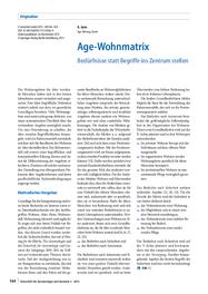 Age-Wohnmatrix