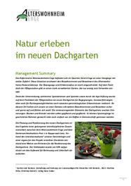 Natur erleben im neuen Dachgarten