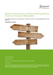 Ethische Orientierung und Entscheidungsfindung in den kommunalen Altersstellen