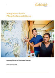 Integration durch Pflegehelferausbildung