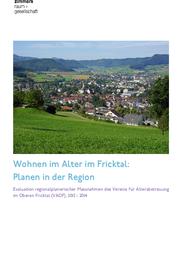 Wohnen im Alter im Fricktal: Planen in der Region