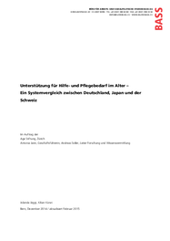 Systemvergleich zwischen Deutschland, Japan und der Schweiz