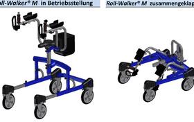 Roll-Walker® – Gehhilfe für sturzgefährdete und gehbehinderte Menschen