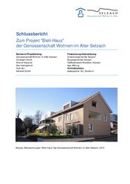 """Projekt """"Bieli-Haus"""" der Genossenschaft Wohnen im Alter Selzach"""